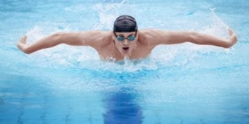 Shoulder pain in swimmers